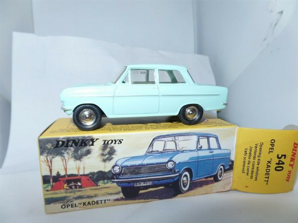 Atlas French Dinky 540 Opel Kadett Light Blue